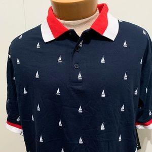 Galaxy Shirts - Men's Galaxy Natica Polo Shirt size 2XL